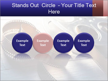 Movie reel PowerPoint Template - Slide 76
