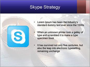 Movie reel PowerPoint Template - Slide 8