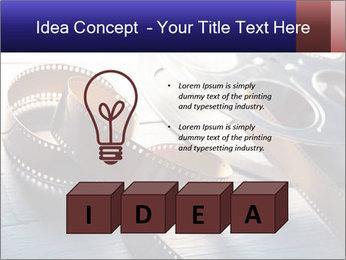 Movie reel PowerPoint Template - Slide 80