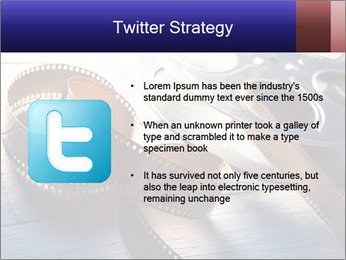 Movie reel PowerPoint Template - Slide 9