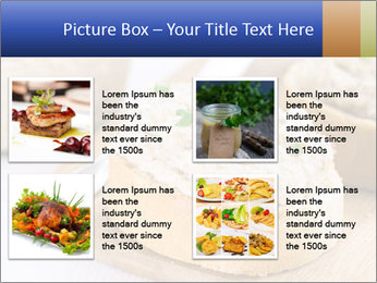 Slice of toasted PowerPoint Template - Slide 14