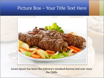 Slice of toasted PowerPoint Template - Slide 15