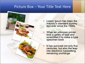 Slice of toasted PowerPoint Template - Slide 17
