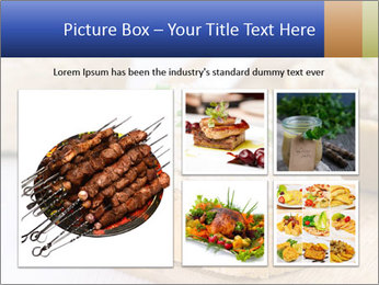 Slice of toasted PowerPoint Template - Slide 19