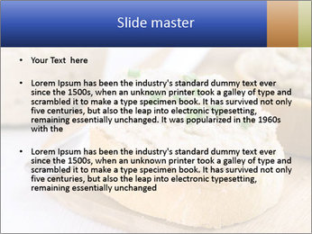 Slice of toasted PowerPoint Template - Slide 2