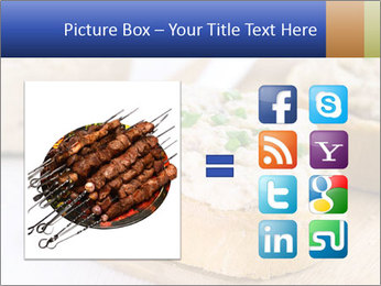 Slice of toasted PowerPoint Template - Slide 21