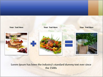 Slice of toasted PowerPoint Template - Slide 22