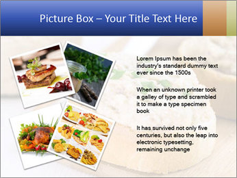 Slice of toasted PowerPoint Template - Slide 23