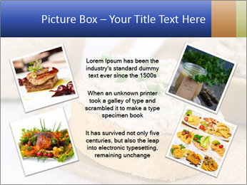 Slice of toasted PowerPoint Template - Slide 24