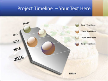 Slice of toasted PowerPoint Template - Slide 26