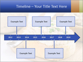 Slice of toasted PowerPoint Template - Slide 28