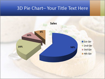 Slice of toasted PowerPoint Template - Slide 35