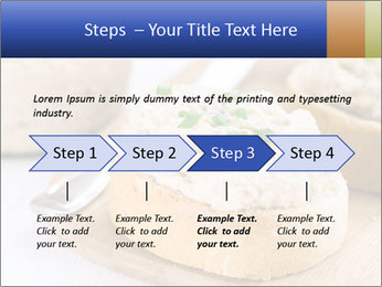 Slice of toasted PowerPoint Template - Slide 4