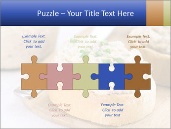 Slice of toasted PowerPoint Template - Slide 41