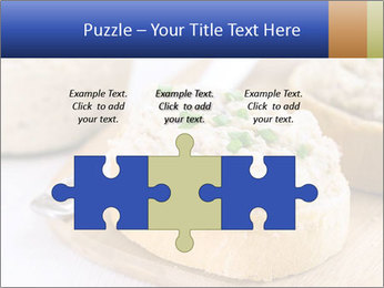 Slice of toasted PowerPoint Template - Slide 42