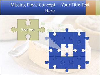 Slice of toasted PowerPoint Template - Slide 45