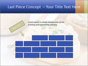 Slice of toasted PowerPoint Template - Slide 46