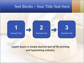 Slice of toasted PowerPoint Template - Slide 71