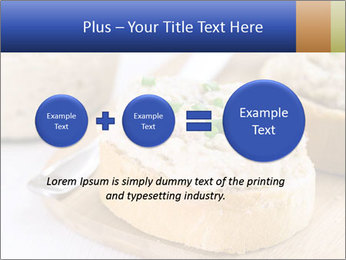 Slice of toasted PowerPoint Template - Slide 75