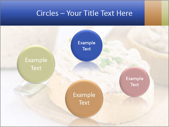 Slice of toasted PowerPoint Template - Slide 77