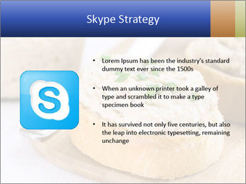 Slice of toasted PowerPoint Template - Slide 8