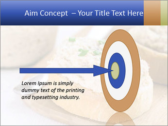 Slice of toasted PowerPoint Template - Slide 83