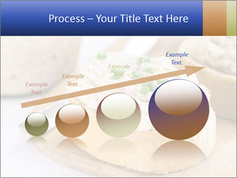 Slice of toasted PowerPoint Template - Slide 87