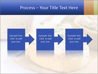 Slice of toasted PowerPoint Template - Slide 88