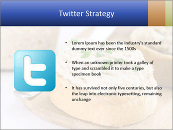 Slice of toasted PowerPoint Template - Slide 9