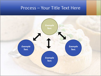 Slice of toasted PowerPoint Template - Slide 91