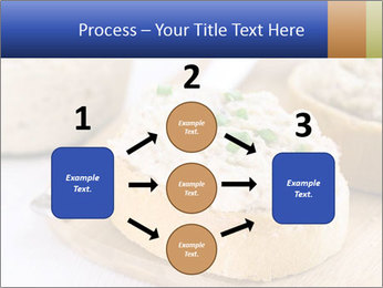 Slice of toasted PowerPoint Template - Slide 92