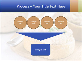 Slice of toasted PowerPoint Template - Slide 93