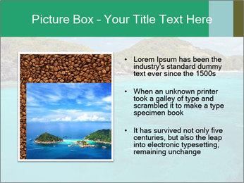 Crystal clear sea PowerPoint Template - Slide 13
