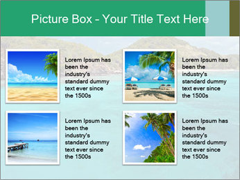 Crystal clear sea PowerPoint Template - Slide 14
