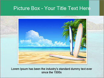 Crystal clear sea PowerPoint Template - Slide 16