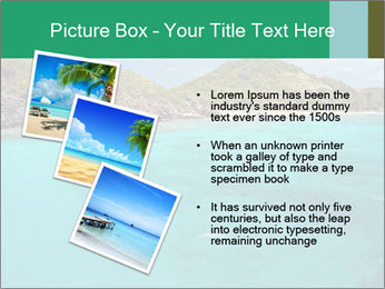 Crystal clear sea PowerPoint Template - Slide 17