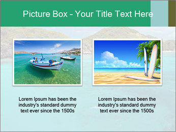 Crystal clear sea PowerPoint Template - Slide 18