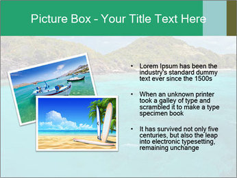 Crystal clear sea PowerPoint Template - Slide 20