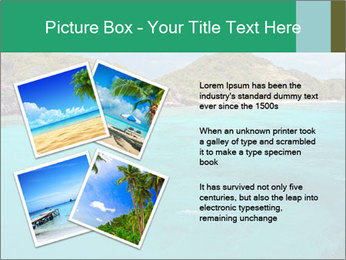 Crystal clear sea PowerPoint Template - Slide 23