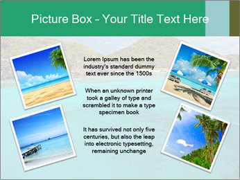 Crystal clear sea PowerPoint Template - Slide 24