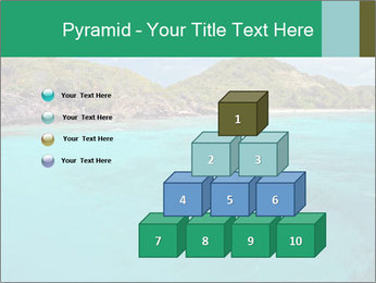 Crystal clear sea PowerPoint Template - Slide 31