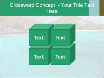 Crystal clear sea PowerPoint Template - Slide 39
