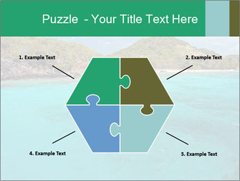 Crystal clear sea PowerPoint Template - Slide 40