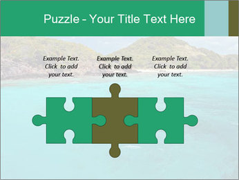 Crystal clear sea PowerPoint Template - Slide 42