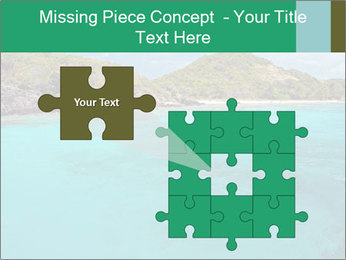 Crystal clear sea PowerPoint Template - Slide 45
