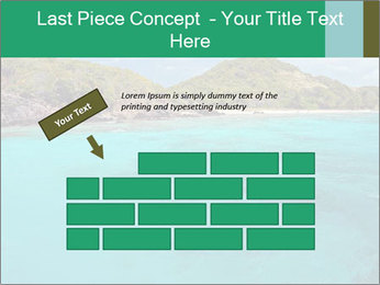 Crystal clear sea PowerPoint Template - Slide 46