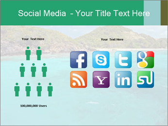 Crystal clear sea PowerPoint Template - Slide 5