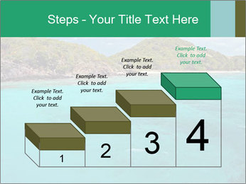 Crystal clear sea PowerPoint Template - Slide 64