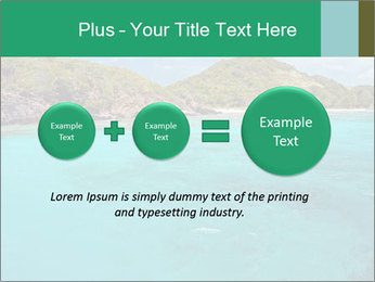 Crystal clear sea PowerPoint Template - Slide 75