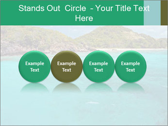 Crystal clear sea PowerPoint Template - Slide 76